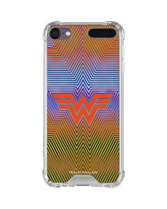 Wonder Woman Rainbow Chevron iPod Touch (5th-6th-7th Gen) Clear Case
