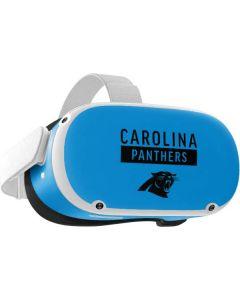 Carolina Panthers Blue Performance Series Oculus Quest 2 Skin
