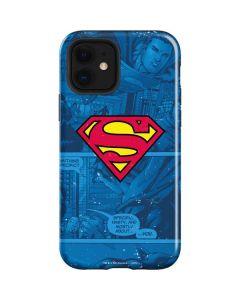 Superman Logo iPhone 12 Case