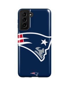 New England Patriots Large Logo Galaxy S21 Plus 5G Case