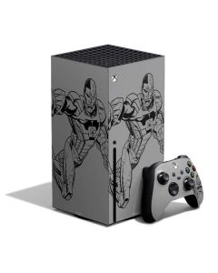 Cyborg Comic Pop Xbox Series X Bundle Skin