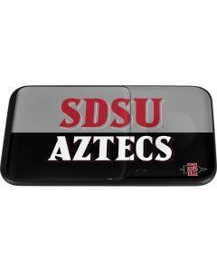 SDSU Aztecs Wireless Charger Duo Skin
