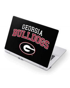 University of Georgia Bulldogs Acer Chromebook Skin