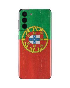 Portugal Flag Distressed Galaxy S21 5G Skin