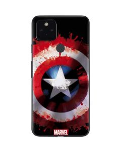 Captain America Shield Google Pixel 4a 5G Skin