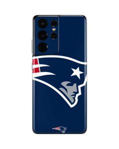 New England Patriots Large Logo Galaxy S21 Ultra 5G Skin