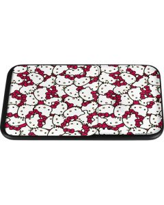 Hello Kitty Multiple Bows Pink Wireless Charger Duo Skin