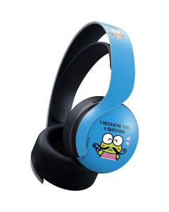 Keroppi I Mustache You A Question PULSE 3D Wireless Headset for PS5 Skin