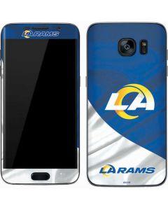 Los Angeles Rams Flag Galaxy S7 Skin