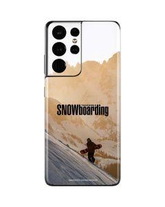 TransWorld SNOWboarding Sunset Galaxy S21 Ultra 5G Skin
