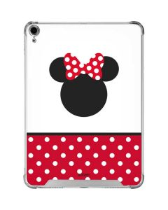 Minnie Mouse Symbol iPad Air 10.9in (2020) Clear Case