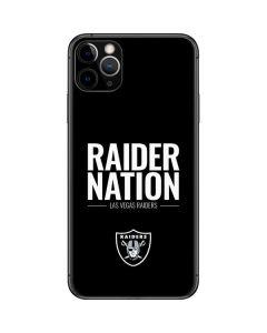 Las Vegas Raiders Team Motto iPhone 11 Pro Max Skin