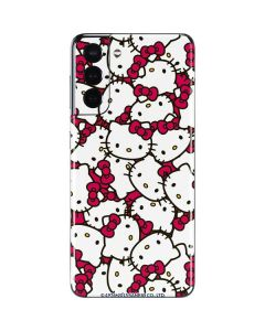 Hello Kitty Multiple Bows Pink Galaxy S21 5G Skin