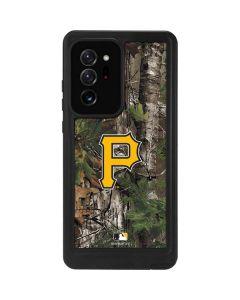 Pittsburgh Pirates Realtree Xtra Green Camo Galaxy Note20 Ultra 5G Waterproof Case