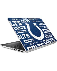 Indianapolis Colts Blue Blast HP Pavilion Skin
