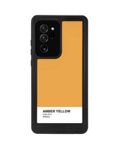 Amber Yellow Galaxy Note20 Ultra 5G Waterproof Case