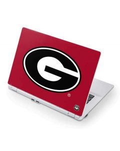University of Georgia Logo Red Acer Chromebook Skin