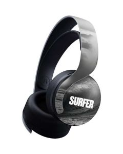 SURFER Black and White Wave PULSE 3D Wireless Headset for PS5 Skin