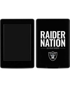 Las Vegas Raiders Team Motto Amazon Kindle Skin