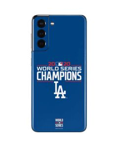 2020 World Series Champions LA Dodgers Galaxy S21 5G Skin