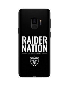 Las Vegas Raiders Team Motto Galaxy S9 Skin