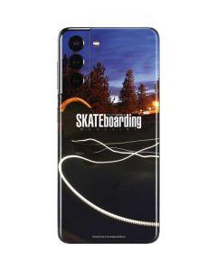 TransWorld SKATEboarding Skate Park Lights Galaxy S21 5G Skin