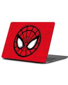 Spider-Man Face Apple MacBook Pro 13-inch Skin