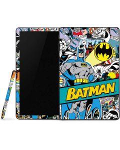 Batman Comic Book Samsung Galaxy Tab Skin