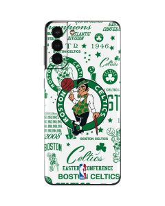 Boston Celtics Historic Blast Galaxy S21 Plus 5G Skin