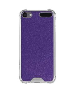 Diamond Purple Glitter iPod Touch (5th-6th-7th Gen) Clear Case