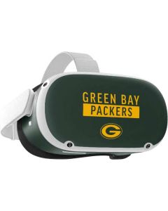 Green Bay Packers Green Performance Series Oculus Quest 2 Skin