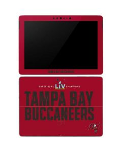 Super Bowl LV Champions Tampa Bay Buccaneers Surface Go Skin