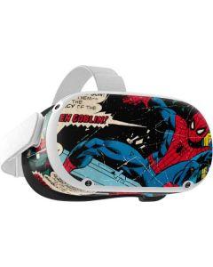 Marvel Comics Spiderman Oculus Quest 2 Skin