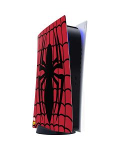 Spider-Man Chest Logo PS5 Digital Edition Console Skin