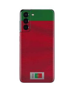 Portugal Soccer Flag Galaxy S21 5G Skin