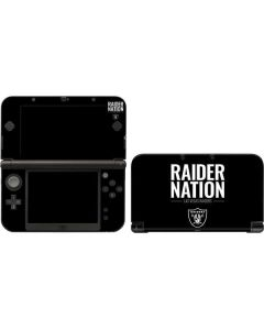 Las Vegas Raiders Team Motto 3DS XL 2015 Skin