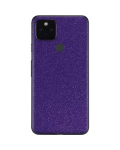 Diamond Purple Glitter Google Pixel 4a 5G Skin