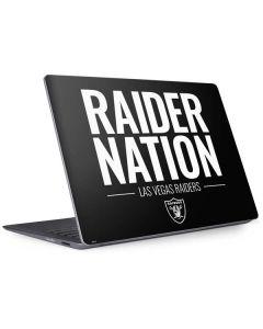 Las Vegas Raiders Team Motto Surface Laptop 2 Skin