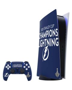 2020 Stanley Cup Champions Lightning PS5 Digital Edition Bundle Skin