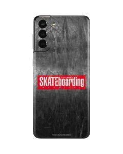 TransWorld SKATEboarding Magazine Chalkboard Galaxy S21 Plus 5G Skin