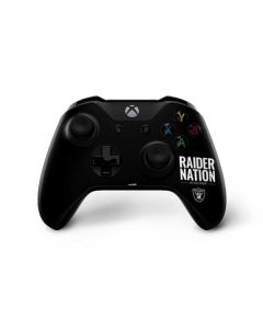 Las Vegas Raiders Team Motto Xbox One X Controller Skin