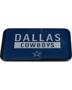 Dallas Cowboys Blue Performance Series Wireless Charger Duo Skin