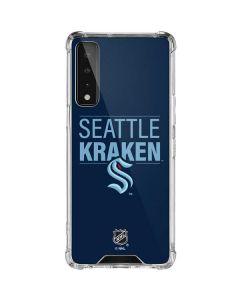 Seattle Kraken Lineup LG Stylo 7 5G Clear Case