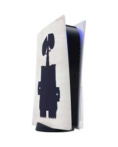 WALL-E Silhouette PS5 Console Skin