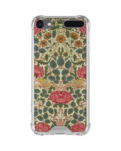 Rose by William Morris iPod Touch (5th-6th-7th Gen) Clear Case