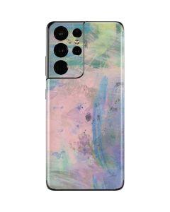 Rose Quartz & Serenity Abstract Galaxy S21 Ultra 5G Skin