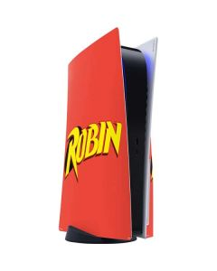 Robin Official Logo PS5 Console Skin