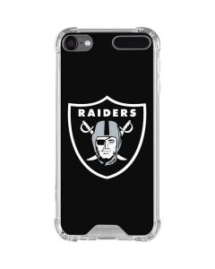 Las Vegas Raiders Large Logo iPod Touch (5th-6th-7th Gen) Clear Case