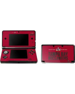 Super Bowl LV Champions Tampa Bay Buccaneers 3DS (2011) Skin