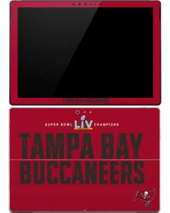 Super Bowl LV Champions Tampa Bay Buccaneers Surface Pro (2017) Skin